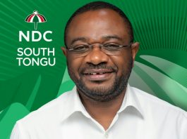 South Tongu MP - Wisdom Kobena Mensah Woyome