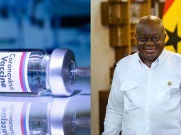 President Nana Addo-Dankwa Akufo-Addo Speaks on Covid-19 Vaccine