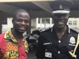 Manasseh Azure Awuni and COP Dr. George Akuffo Dampare