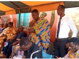 NUTSA President Mr. Wisdom Sogah and his executives